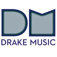 Image: internal glow version of Drake Music logo