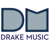 Image: internal glow version of Drake Music logo
