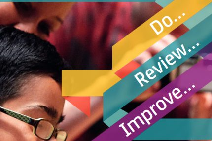 Image shows front cover of Youth Music quality framework