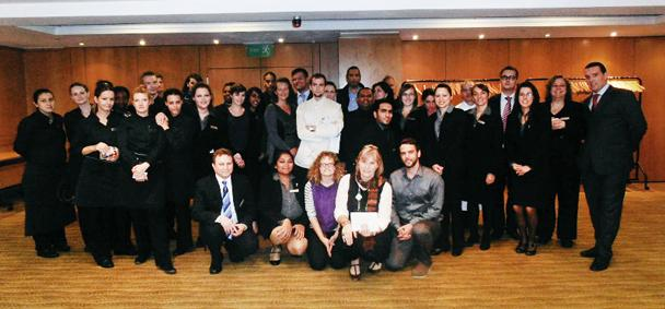 Staff At The Hilton Hotel Kensington London Have Chosen Drake Music As Their Charity Partner Over Next Year They Will Be Holding A Series Of Events