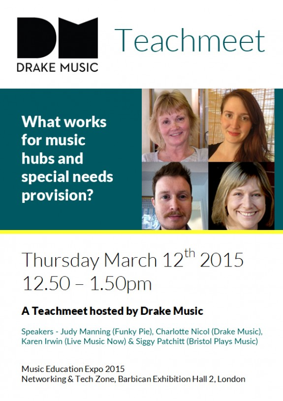 DrakeMusic_Teachmeet (1)