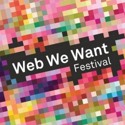Logo for Web We Want festival