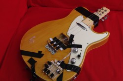 The 'kellycaster' - a work in progress being developed by Charles Matthews and guitarist/musician John Kelly