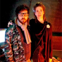 Kris Halpin and Imogen Heap