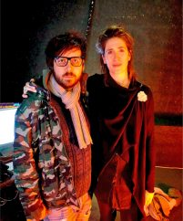 Kris Halpin and Imogen Heap