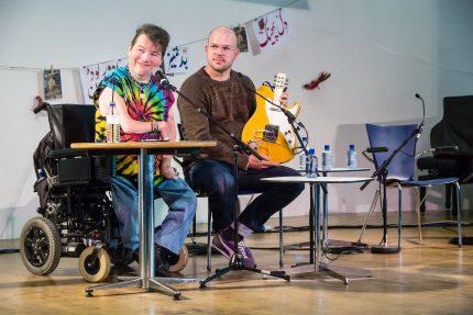 John Kelly & Gawain Hewitt at the Web We Want festival at Southbank Centre