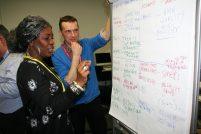 Drake Music's Jonathan Westrup & Delia Barker at Resonate Music Hub