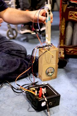Electronic gamelan instrument prototype