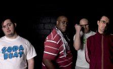 Club Soda musicians pose for camera