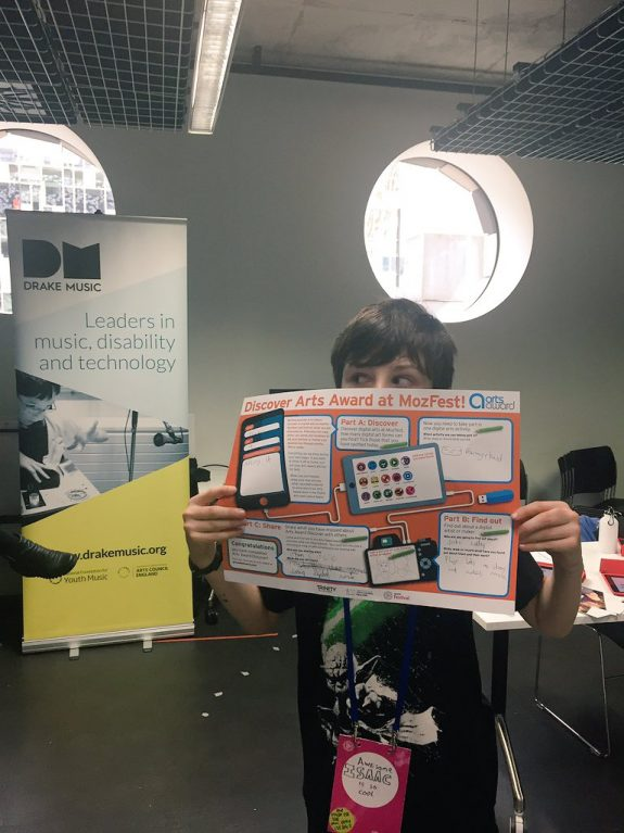 Participant at DMLab completes his challenge! Showing his completed map.