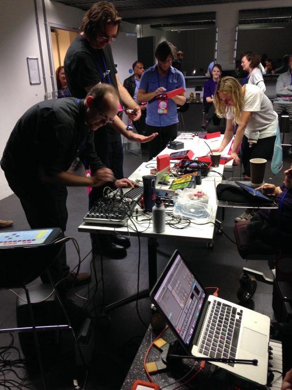 DMLab Live participants at Mozfest 2016