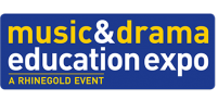Logo for Music & Drama Education Expo