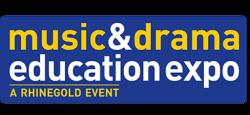 Logo for Music & Drama Education Expo