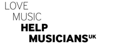 Logo reads: Love Music Help Musicians