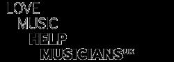 Logo reads: Love Music Help Musicians