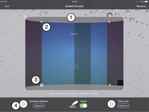 Boosting accessibility of iPads for music making in the classroom