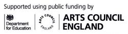Arts Council England funding logo