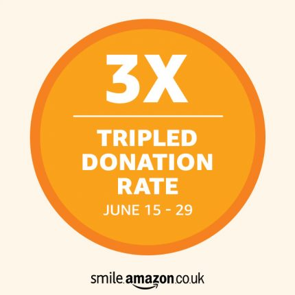 Amazon triple donation logo